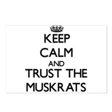 Keep calm and Trust the Muskrats Postcards (Packag