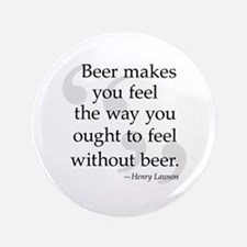 "Beer Quote 3.5"" Button"