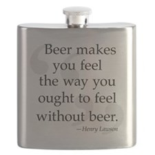 Beer Quote Flask