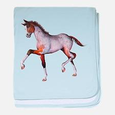 The Little Foal baby blanket