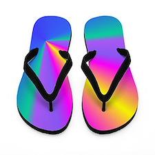 Abstract Conical Flip Flops - Beach Bum Flip Flops