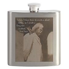 Mark Twain Flask