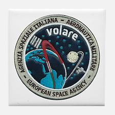 ESA's Volare Mission Tile Coaster