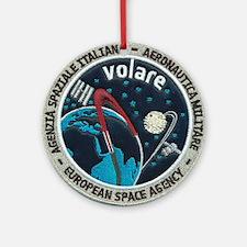 ESA's Volare Mission Ornament (Round)