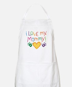 i luv mom BBQ Apron