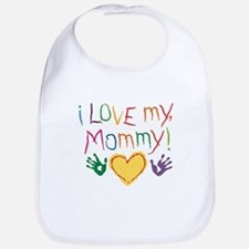 i luv mom Bib