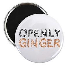 'Openly Ginger' Magnet