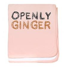 'Openly Ginger' baby blanket