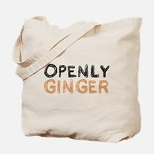 'Openly Ginger' Tote Bag