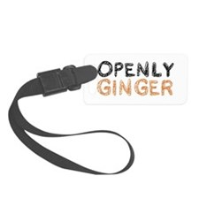 'Openly Ginger' Luggage Tag