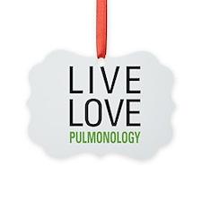 Pulmonology Picture Ornament