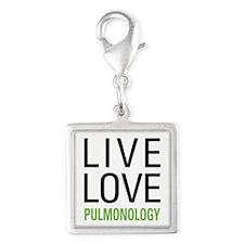 Pulmonology Silver Square Charm