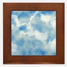 Clouds Framed Tile