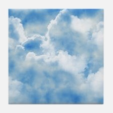 Clouds Tile Coaster