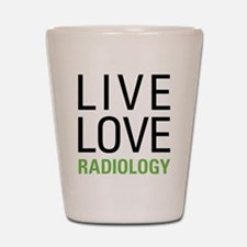 Radiology Shot Glass