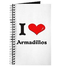 I love armadillos Journal