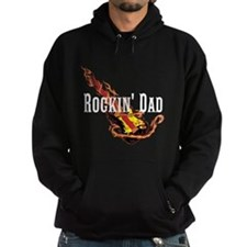 Rockin' Dad Guitar Hoodie