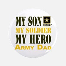 """Army Dad 3.5"""" Button (100 pack)"""