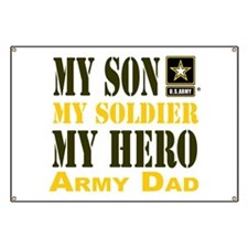 Army Dad Banner