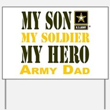 Army Dad Yard Sign