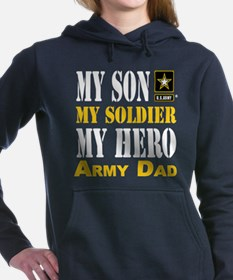 Army Dad Women's Hooded Sweatshirt