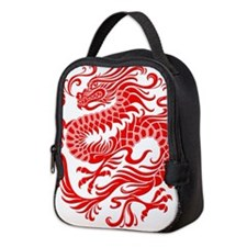 Traditional Chinese Dragon Circle Neoprene Lunch B