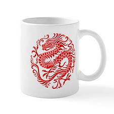 Traditional Chinese Dragon Circle Mugs