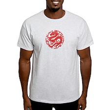 Traditional Chinese Dragon Circle T-Shirt