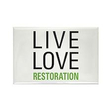 Restoration Rectangle Magnet (10 pack)