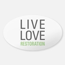 Restoration Decal