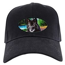 Old Man Wolf Baseball Cap