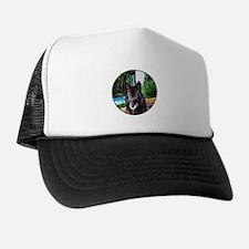 Old Man Wolf Trucker Hat