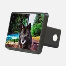 Old Man Wolf Hitch Cover