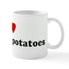 I Love meat and potatoes Mug