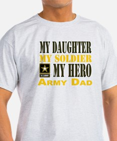Army Dad Daughter T-Shirt