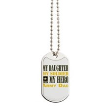 Army Dad Daughter Dog Tags
