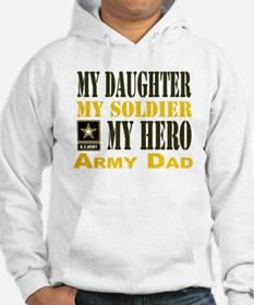 Army Dad Daughter Hoodie