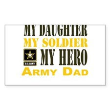 Army Dad Daughter Decal