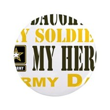 "Army Dad Daughter 3.5"" Button (100 Pack)"