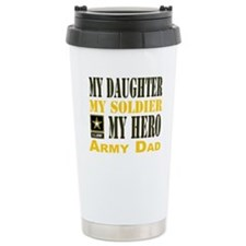 Army Dad Daughter Travel Mug
