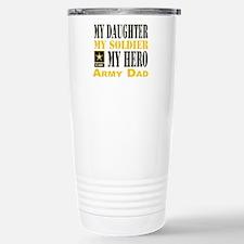 Army Dad Daughter Travel Mug