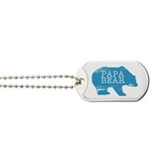 Papa Bear Dog Tags