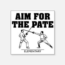 Elementary Aim For The Pate Sticker