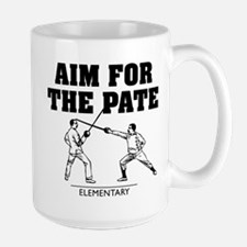 Elementary Aim For The Pate Mugs