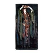 Ellen Terry - Lady Macbeth Beach Towel
