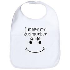 I Make My Godmother Smile Bib