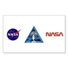 NASA's CRS-3 logo Decal