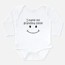 I Make My Grandma Smile Body Suit