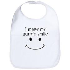 I Make My Auntie Smile Bib