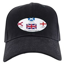 creation of UK flag Baseball Hat
